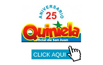 Quiniela de SAN JUAN